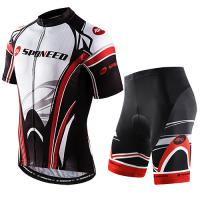 Bicycle Jersey Pad Bike Shorts Suits for Men Biking Sets