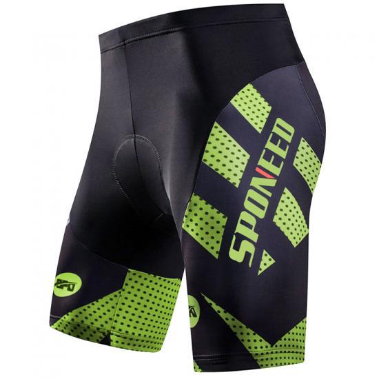 Spandex Bike Shorts Men 4D Padding Cycling Pants Short Sleeve Sport Cycle Tights