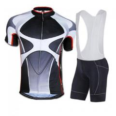 Men's Cycling Jersey 4D Padded Bib Shorts Suits Short Sleeve