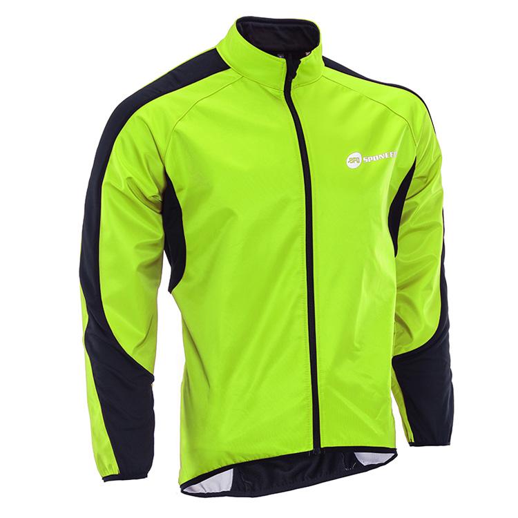 Men's Windproof Cycling Jackets Fleece Coat Shirts Winter Bi..