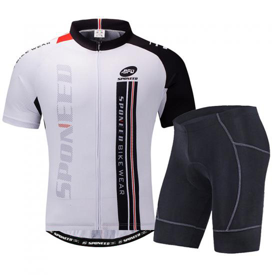 Cycling Jersey & Shorts sets Gym Spinning Compressions..