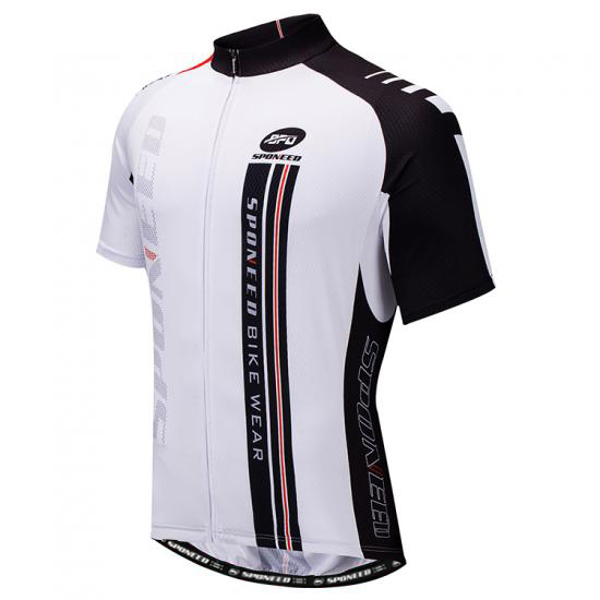 Bike Jersey Road Cycling Shirt Quick Dry Cycle Tight Tops Wh..
